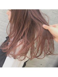 ALIVE大石カラー☆ハイライトでピンクcolorに☆