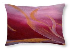 Ruby Flow Throw Pillow for Sale by Faye Anastasopoulou 20 x 14 Bedroom Sitting Room, Colourful Living Room, Picture Gifts, Fancy Houses, Pattern Pictures, Cool Themes, Pillow Reviews, Luxury Vinyl Plank, Pillow Sale