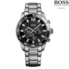c22a461486aa Men's Hugo Boss Chronograph Bracelet Watch - BOSS Black Collection - Watch  Supermarket has a wide range of Hugo Boss watches online all with FREE UK  ...