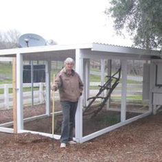 The long awaited chicken pen extension that Renee has been looking forward to for some time! - Capper's Farmer Magazine