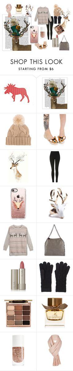 """Lookin' Good, My Deer"" by rachelcarroll-i ❤ liked on Polyvore featuring FabFunky, Loro Piana, Iron Fist, Topshop, Casetify, Fat Face, STELLA McCARTNEY, Ilia, Stila and Burberry"