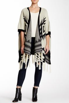 We love ponchos!