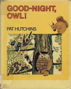vintage kids book Good Night Owl by Kate by OnceUponABookshop, $5.00