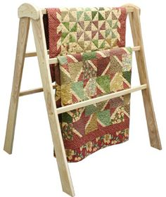 Quilt Display Rack (from Hinterberg Design)