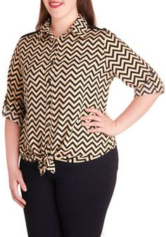 Milan Vacation Top in Plus Size, #ModCloth