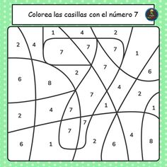 Number 7 Worksheet Preschool Coloring Book Number for Kids Worksheet for Preschool 2nd Grade Worksheets, Free Kindergarten Worksheets, Tracing Worksheets, Kindergarten Writing, Worksheets For Kids, Numbers For Kids, Numbers Preschool, Learning Numbers, Free Preschool