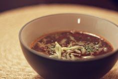 Healthy, quick and easy Black Bean Soup. gluten-free, dairy-free optional, vegetarian, vegan, soy-free