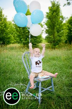 First Birthday Photos #ericaerckphotography