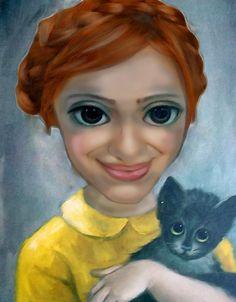 La Caja Oxidada - The Rusty Box: Big Eyes, Margaret Keane