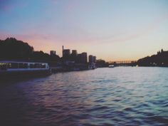 I wish I could've made you stay by camillapaws. pastelsky #travel #pinksky #tb #igers #travelgram #love #art #france #cityoflove #nostalgia #pastel #aesthetic #photography #pinksunset #memories #pink #ig_travel #sunset #skyporn #boat #sein #landscape #river #spring #paris #wishes #wavy #sky #wanderlust #micefx [Follow us on Twitter (@MICEFXSolutions) for more...]