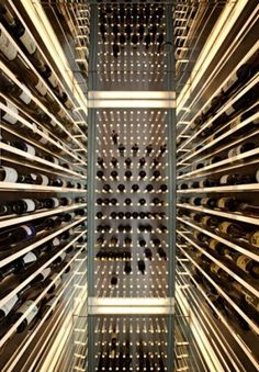 Wine racks are furniture, right? What a fantastic display of wine!