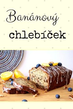 Muffin Bread, Czech Recipes, Sponge Cake, Home Recipes, Muffins, Goodies, Food And Drink, Cooking, Breakfast