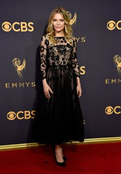 Michelle Pfeiffer at the 2017 Emmys