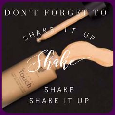 Squeeze out the dropper & shake the bottle before each use of Younique's Touch Mineral Liquid Foundation! sarahandbrianyounique@gmail.com #ShakeItUp