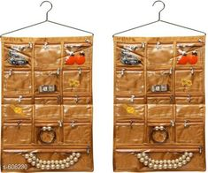 Checkout this latest Foldable Wardrobes_0-500 Product Name: *13 Pockets Wall Hanging Organiser (Pack Of 2)* Material: Satin Description: It Has 2 Pieces Of 13 Pockets Wall Hanging Organiser Country of Origin: India Easy Returns Available In Case Of Any Issue   Catalog Rating: ★3.9 (1049)  Catalog Name: Attractive Multipurpose Organisers Vol 13 CatalogID_67777 C131-SC1625 Code: 943-606230-768