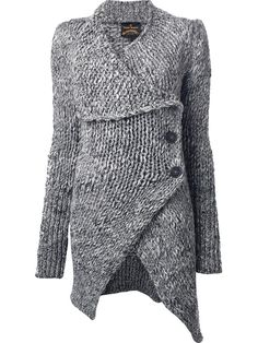 I love the design of this sweater! Vivienne Westwood Anglomania 'Long Concordia' Cardigan