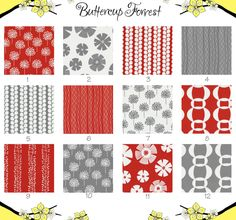 Crib Sheet -- Geometric Ring Stripe White Grey -- Stof Pure Red Gray Collection.  via Etsy.