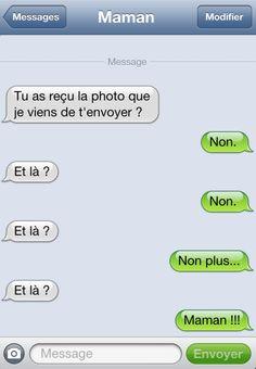 10 Messages Insolites de MAMAN SUR LES iPHONE C'est Drole   JE T'AIME MAMAN.NET