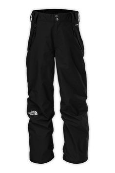 Keep him warm while hanging out in the terrain park with breathable, waterproof shell pants that are conveniently layered over a removable, lightweight fleece pant. #giftsforkids