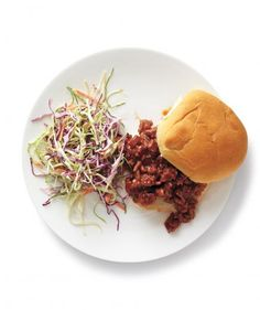 Turkey Sloppy Joes with Coleslaw | We asked, and thousands of you answered. Here are the dishes most bookmarked, dog-eared, clipped, shared, and enjoyed—from once-a-week slow-cooker chicken to special-occasion chocolate cake. Simply put, they're keepers.
