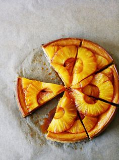 Caramel Pineapple Cheesecake by @Citrus and Candy
