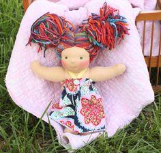 Avalon - a 12 inch Jostin's Daughters handmade doll