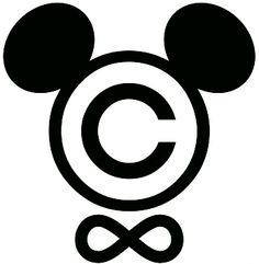 One day this will become the copyright symbol disney uses. I wonder what that day'll be like.