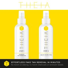 THEIA - The Worlds First Express Fake Tan Remover | Indiegogo