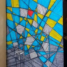 #šťastievšťastí #cmaramcmarascmarame #draw #drawing #color #sketch #sketching #blue #art #colorful #luckiness #chairinjumble #jumblejumble Blue Art, Sketching, Colorful, Quilts, Photo And Video, Drawings, Instagram, Blue Artwork, Quilt Sets