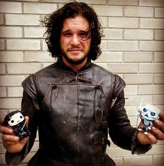 Kit Harington being adorable, as he does.