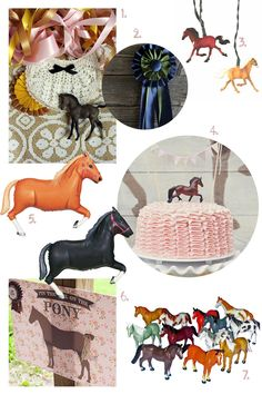 Horse Birthday Party Ideas (Inspiration, found with #BingRewards) #spon