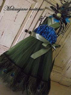 The Original Girls Dazzle Peacock Chiffon Rosette by sharpsissors Peacock Flower Girl Dress, Flower Girl Dresses, Wedding Engagement, Wedding Day, Dream Wedding, Mob Dresses, Peacock Wedding, Peacock Design, Cute Outfits For Kids
