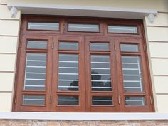 Indian Window Design, Front Window Design, Window Glass Design, Window Grill Design Modern, House Window Design, Wooden Front Door Design, House Ceiling Design, Door Gate Design, Door Design Interior