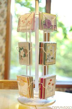 Vendor Displays, Craft Booth Displays, Card Displays, Vendor Booth, Display Ideas, Market Displays, Booth Ideas, Gift Shop Displays, Vendor Table