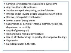 Histrionic Personality Disorder Clinical Features