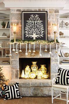 Glam Black & White H...