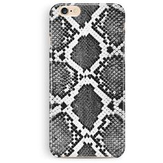 iPhone 5c Case, Snakeskin Phone Case, iPhone cover, iPhone 5S case,... ($14) ❤…