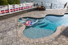 Turn your outdoor living space into paradise! View all the possibilities on Cambridge Pavingstones with ArmorTec website! Installation: PAL Landscaping