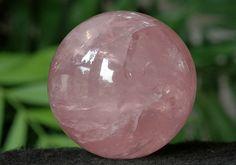 Gem Rose Quartz Sphere