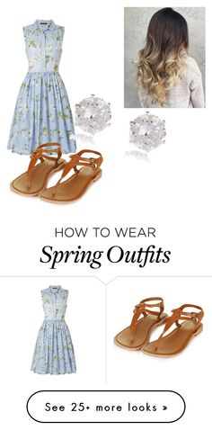 """""""Summer Outfit"""" by frogiesami on Polyvore featuring French Connection, Topshop and River Island"""
