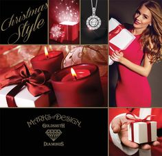 Come to Marks of Design to find your Christmas Style this year!