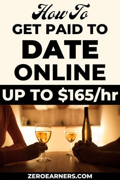 Have you ever thought about getting paid to date online? No? Here are some of the best ways to get paid to date online. #getpaidtodate #dateonline #gpt #makemoneyonline #parttimejobs #sidehustles #extramoney