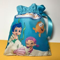 Bubble guppies favor bags Bubble guppies party by JoSeasonsCrafts