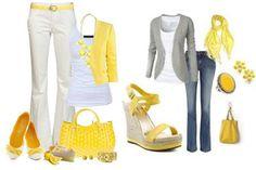 combinar un vestido amarillo - Buscar con Google