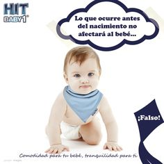 """Creciendo con Hit Baby1: """"Lo que ocurre antes del nacimiento no afectará al bebé"""" ¡Falso! Especialmente antes del nacimiento la mamá debe prepararse  para tener un embarazo saludable, esta etapa es la más importante porque los bebés se están formando, todos sus órganos se desarrollarán a partir de lo que las mamás le ofrezcan, especialmente su cerebro. #bebés #mitos #embarazo #desarrollo"""