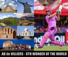 Top funny cool reaction on AB De Villiers Century (in Pictures)...AB De Villiers Century Twitterian reaction in Pictures..8th Wonder of the World - AB De Villiers
