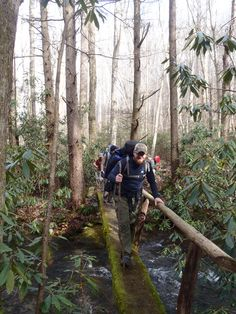 #Hiking in the #SmokyMountains with your family and friends is a great way to enjoy your #Vacation.