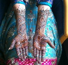 Arabic Mehndi Designs For Hands and Feet