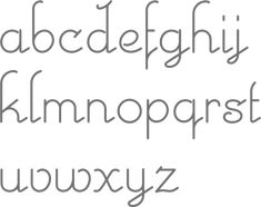 feminine, flirty, font Art deco faces by Nick Curtis: II