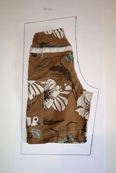Damali: Schnittmuster für kurze Hose selber erstellen